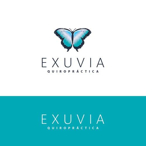 Mordern logo for EXUVIA