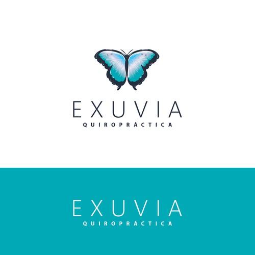 Mordern logo for EXUVIA