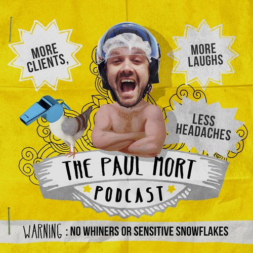 New design wanted for The Paul Mort Podcast