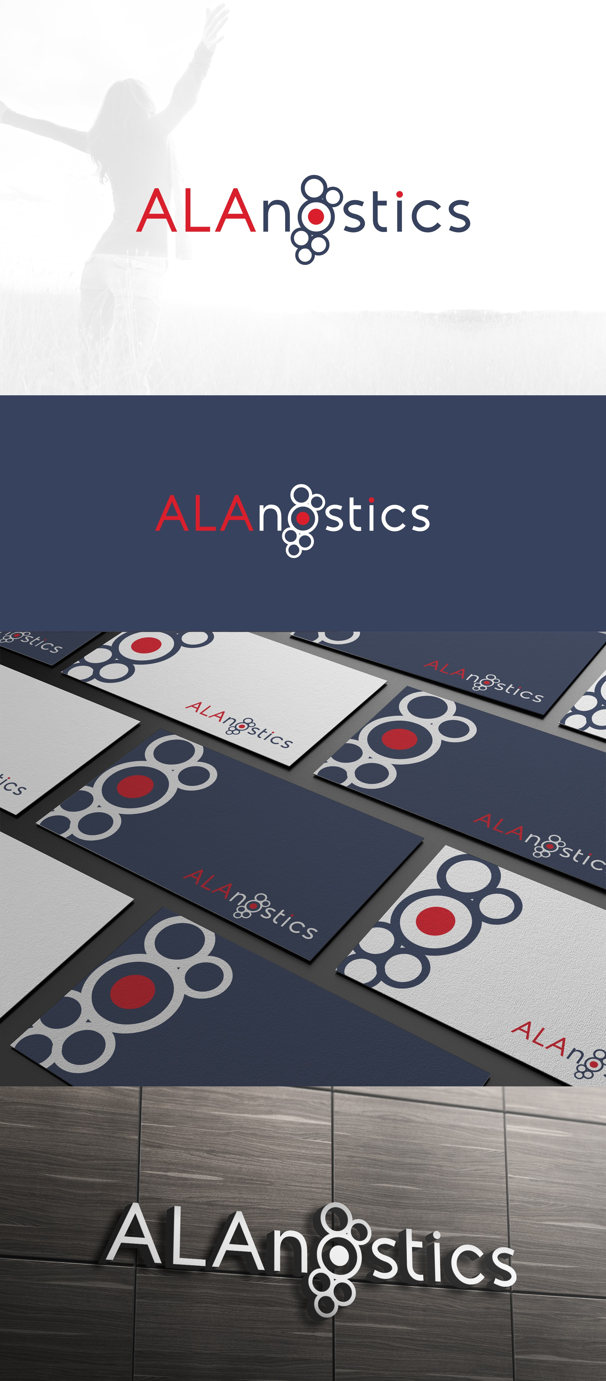 Cancer therapy company ALAnostics need professional new logo.