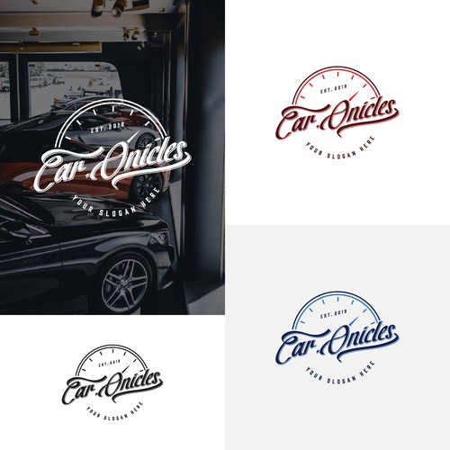 Car dealer automotive logo