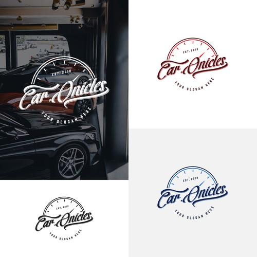 Car dealer automotive logo