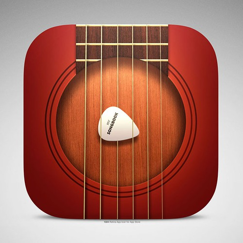 MySongbook is being updated to iOS 7 and needs a new app icon