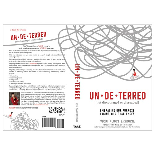 "Book cover for ""Un-de-terred"""