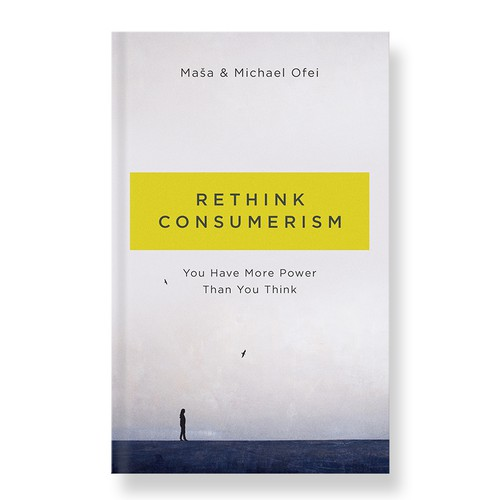 Rethink consumerism book cover