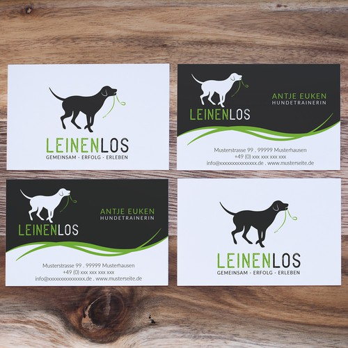 Logo concept for a dog trainer