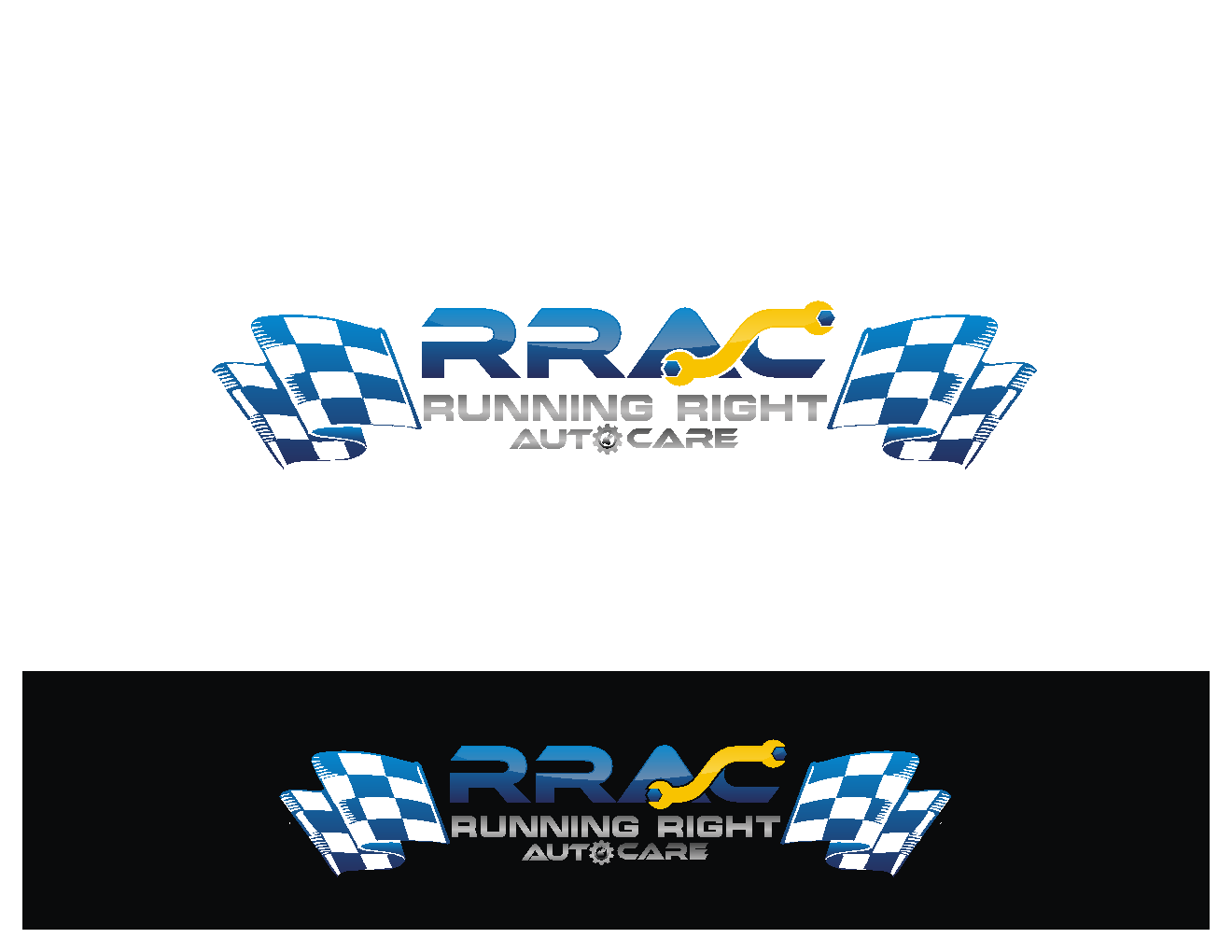 Help Running Right Auto Care  with a new logo