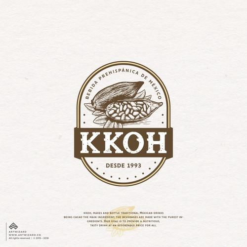 Vintage Logo for Kkoh