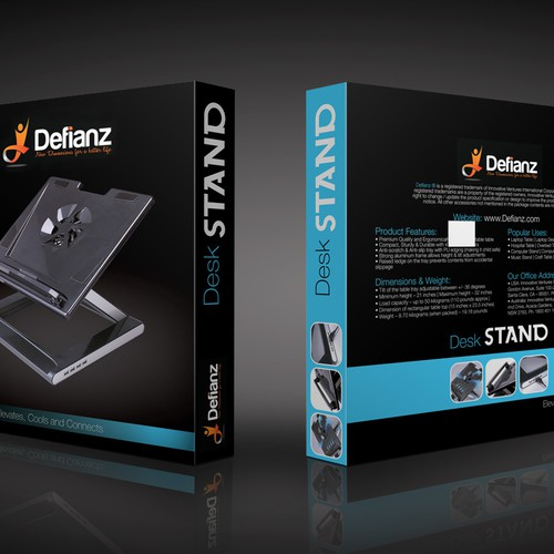 Packaging design for a new product startup  - Defianz