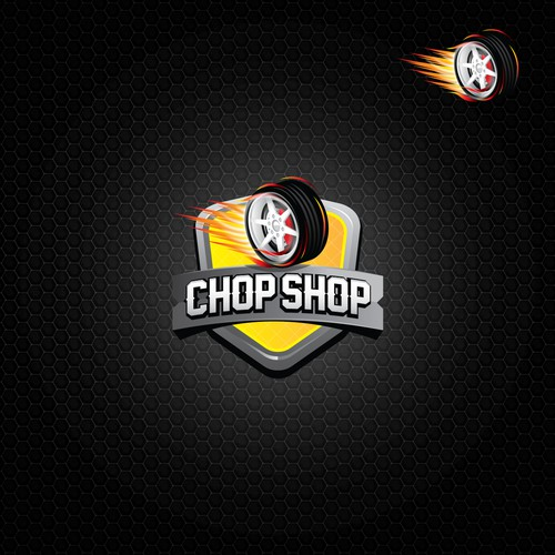 Logo for Chop Shop game