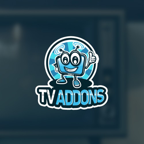 Nice and happy character for streaming app logo