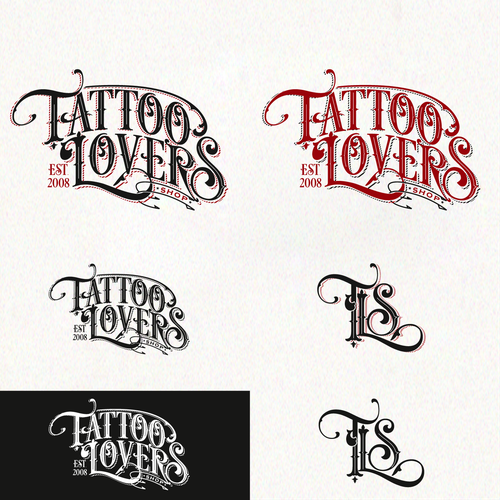 Bold logo For Online Tattoo Community
