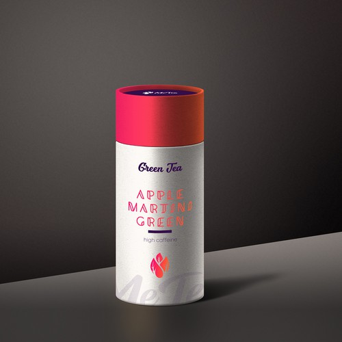 Packaging Tube for MeTea