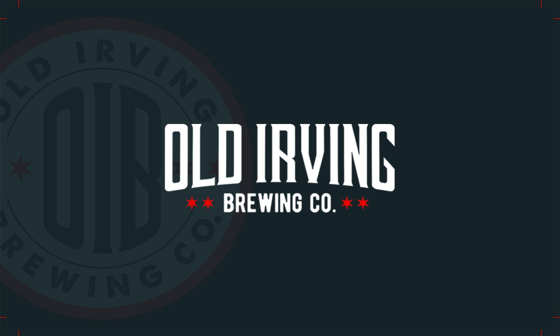 Business Card for Old Irving Brewing Co.