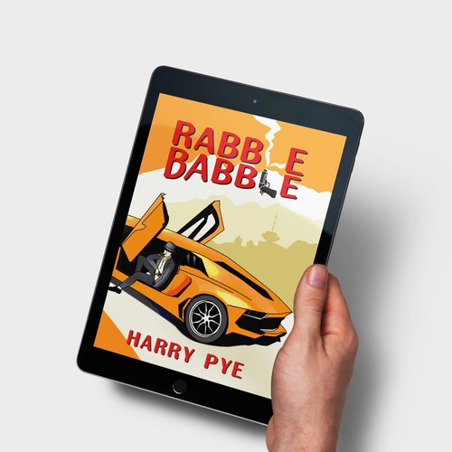 Cover Design for Rabble Babble by Harry Pye