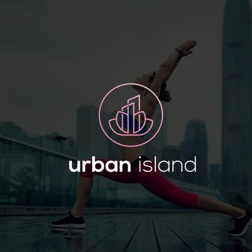 Logo for urban yoga studio