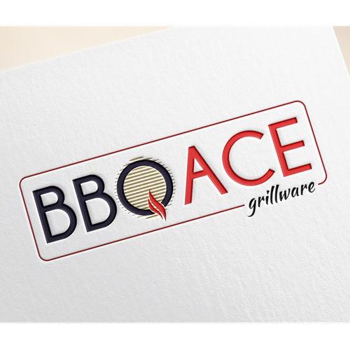 Logo design concept for BBQ ACE
