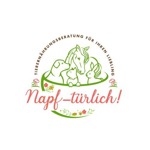 Logo für eine Tierernährungsberatung
