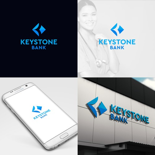 """Logo for a """"Cool Bank"""""""