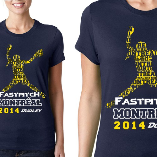 Tee for Fastpitch Montreal