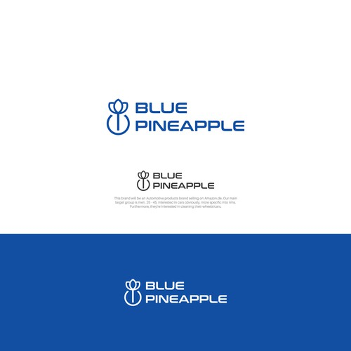 Blue Pineapple Logo