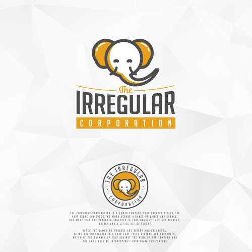 The irregular logo