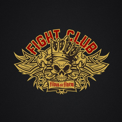 Skull Logo for Fight Club