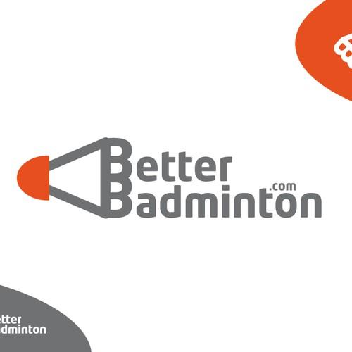 Creative Logo for Badminton Sport