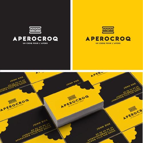 Conception d´identité visuelle pour Aperocroq