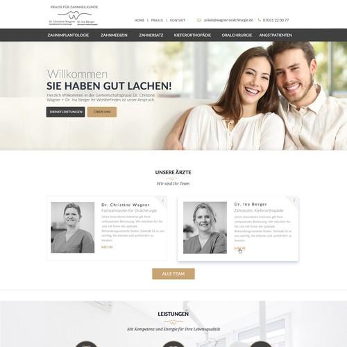 Dental Clinic Web Design