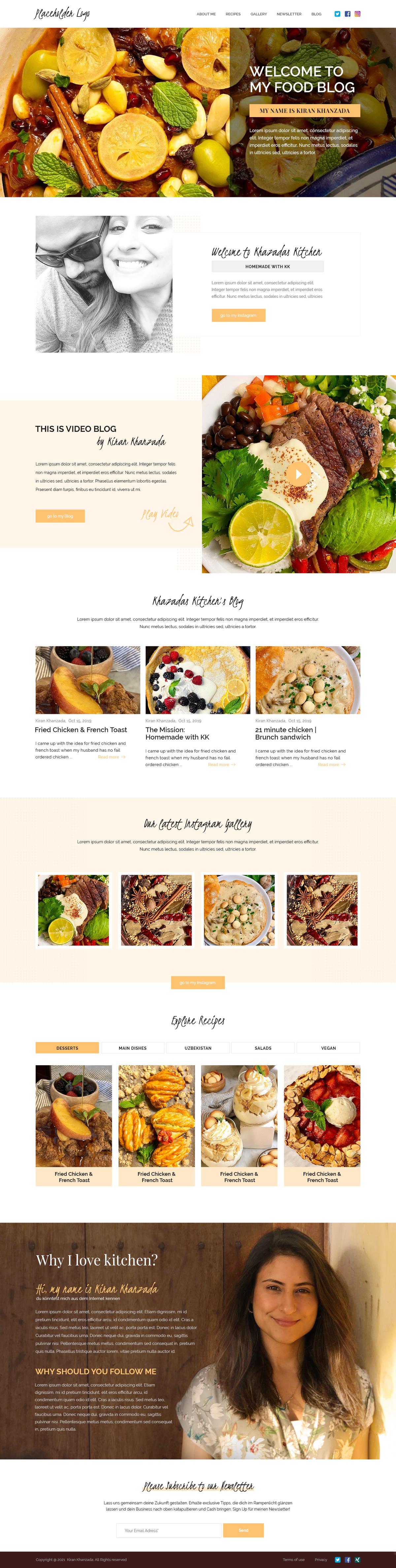 Kiran Khanzada Food Blog