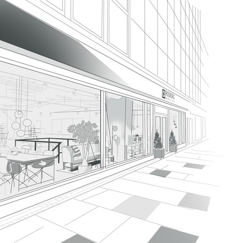 Furniture Shop Illustration