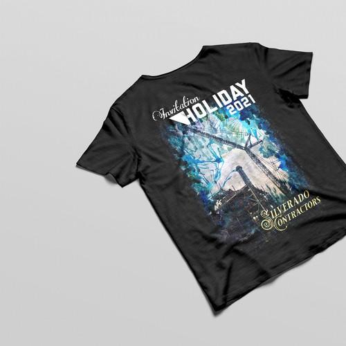 T-Shirt & Invitation Card Design