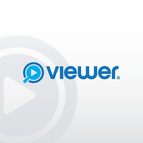 bold logo for viewer