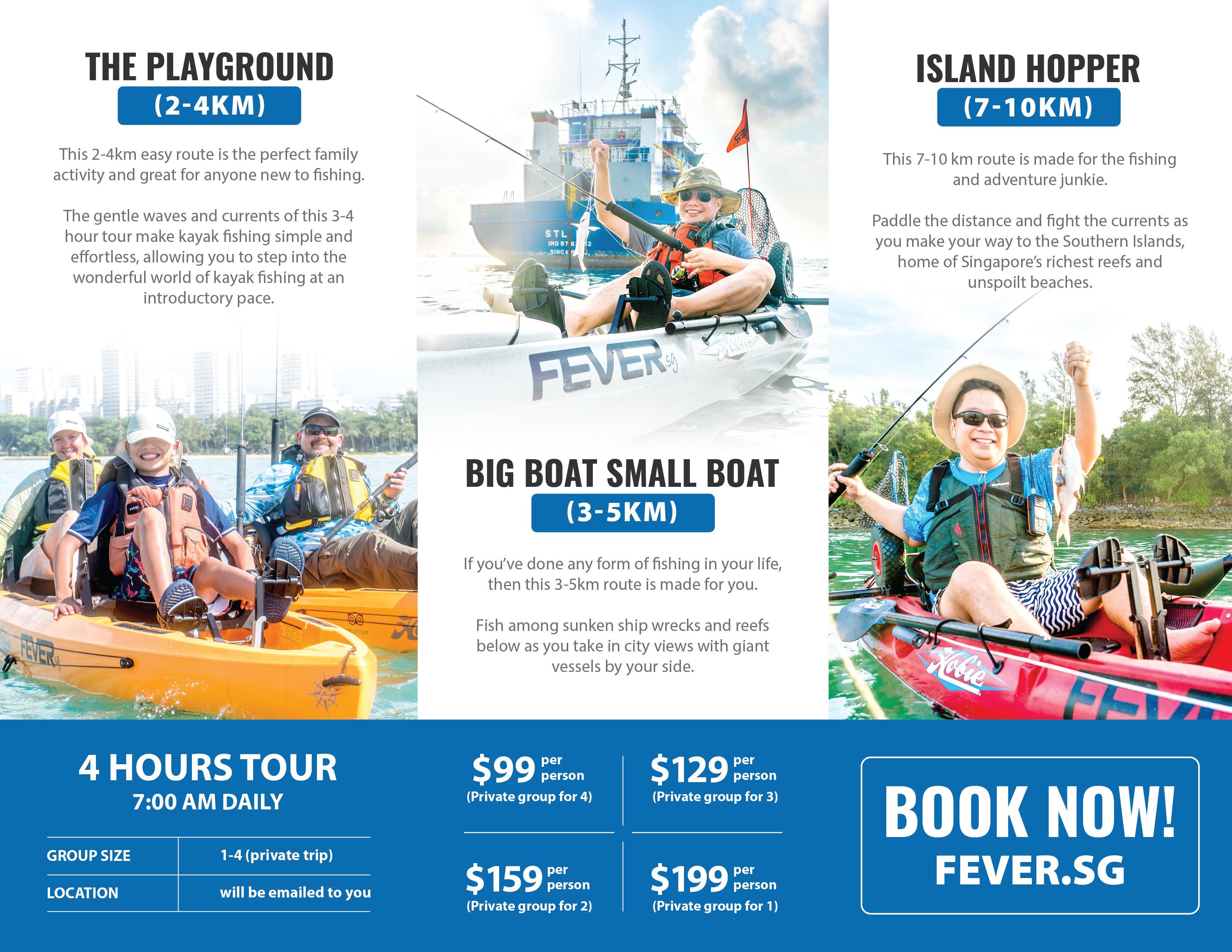 Kayak Fishing Tours Brochure