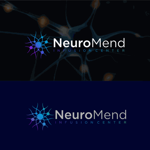 neuro mend infusion center need strong logo