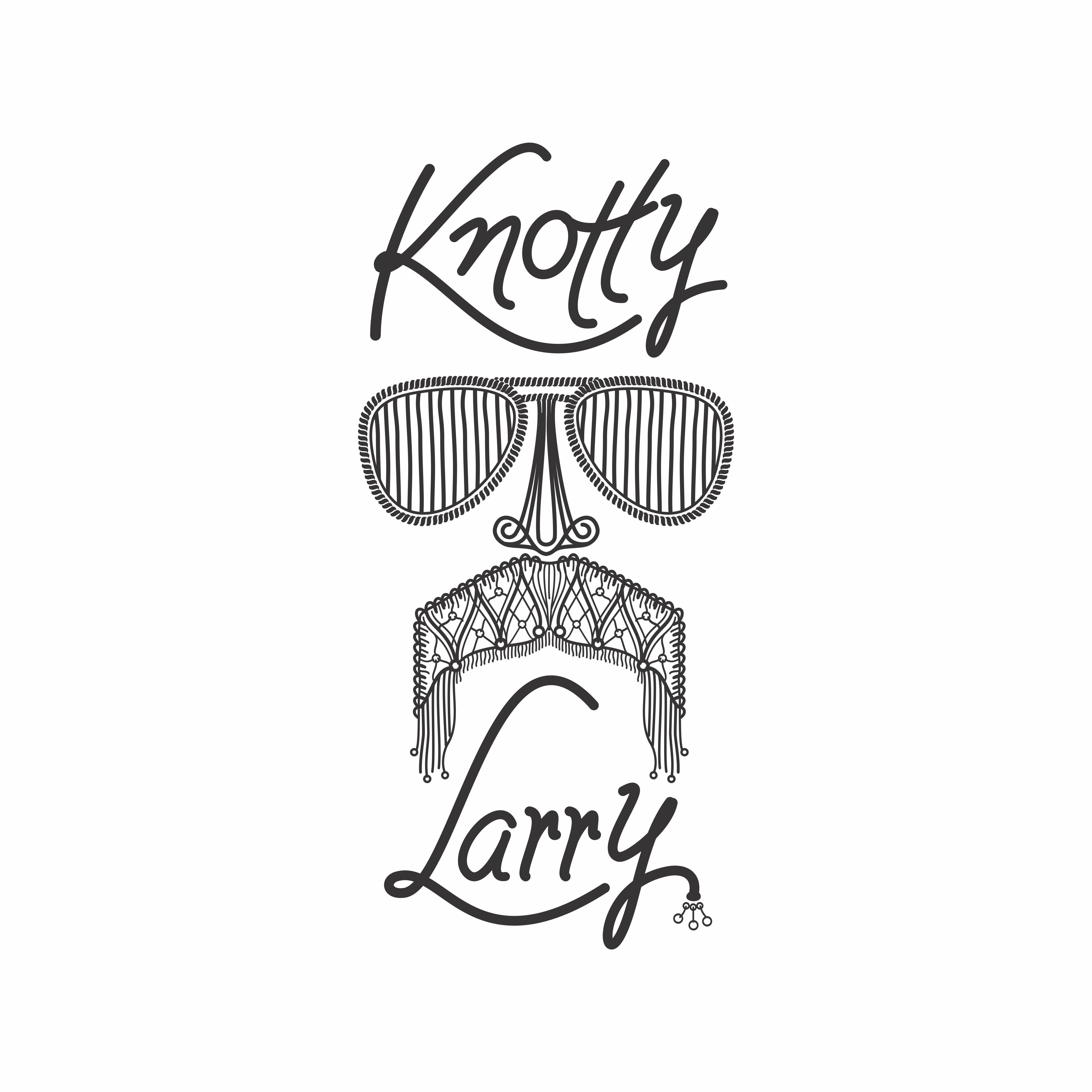 Mustache Needs Macrame Makeover - Knotty Larry