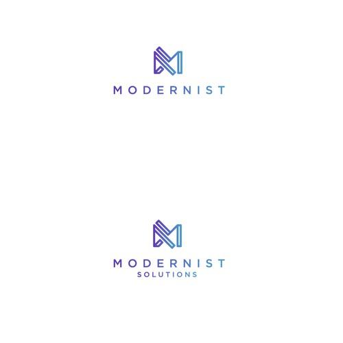 Contemporary minimalist logo mark