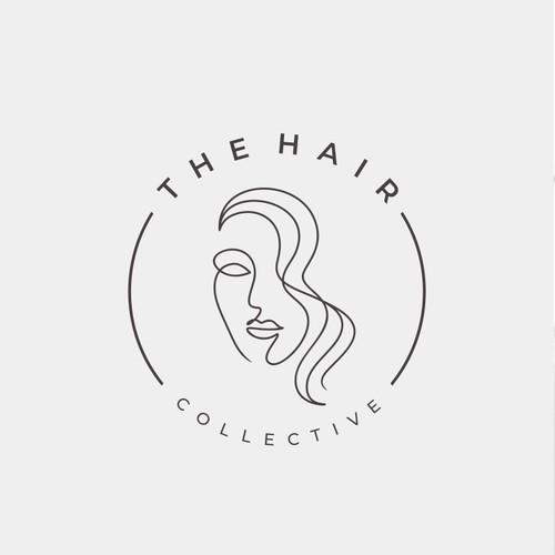Modern Minimalist Hair Salon Logo