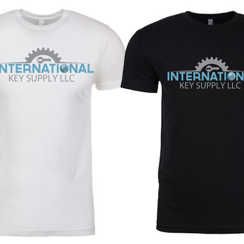 Design shirts for company to wear at trade shows