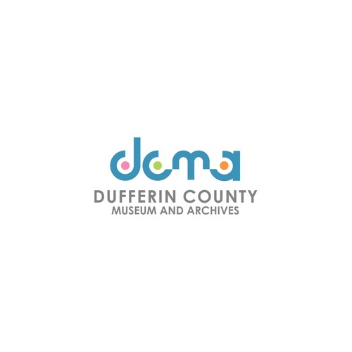 Logo for a Museum and archives