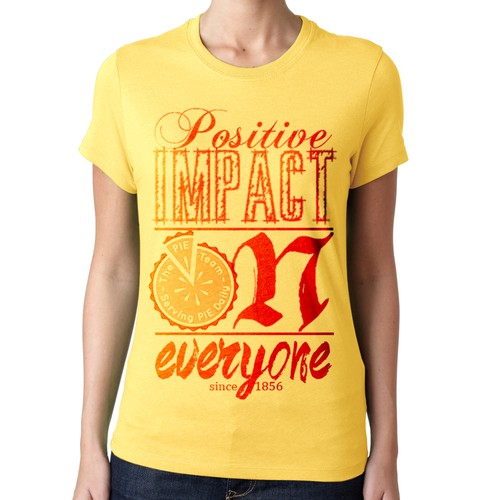 T shirt design for Pie-Wirig