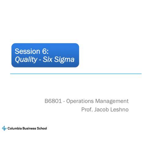Design MBA class materials