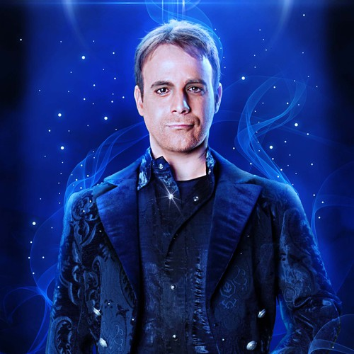 Rock Star Magician Las Vegas Billboard Design