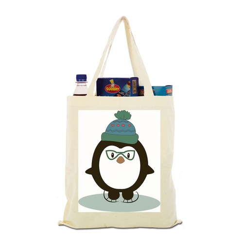 Design fun Winter Animals in Human Accessories for Girls Hats & Totes!