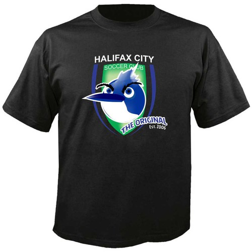 Create a cool soccer t-shirt for Halifax CITY Soccer Club
