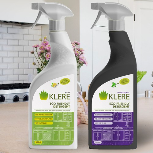Name, Logo and label for a new eco-friendly detergent