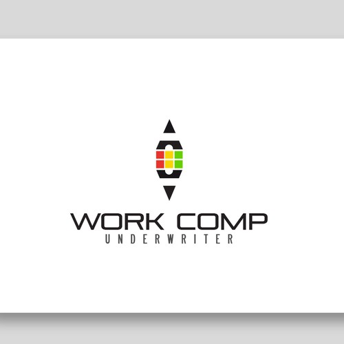 Very meaningful and clean logo concept for Work Comp
