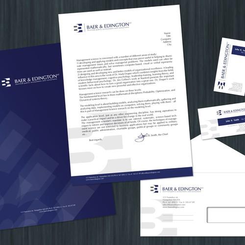 Accounting firm needs progressive, professional visual identity