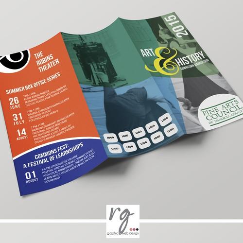 "Brochure ""Art & History Festival"""